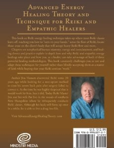 Advanced Energy Healing Theory and Technique for Reiki and Empathic Healer | Mindstir Media Book Cover
