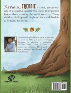 Forgetful Freddie by Justin Summerville kids book | Mindstir Media Book Cover