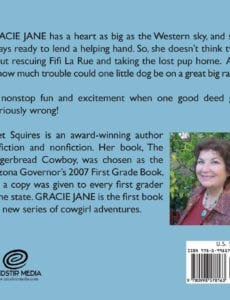 Gracie Jane by Janet Squires childrens author | Mindstir Media Book Cover