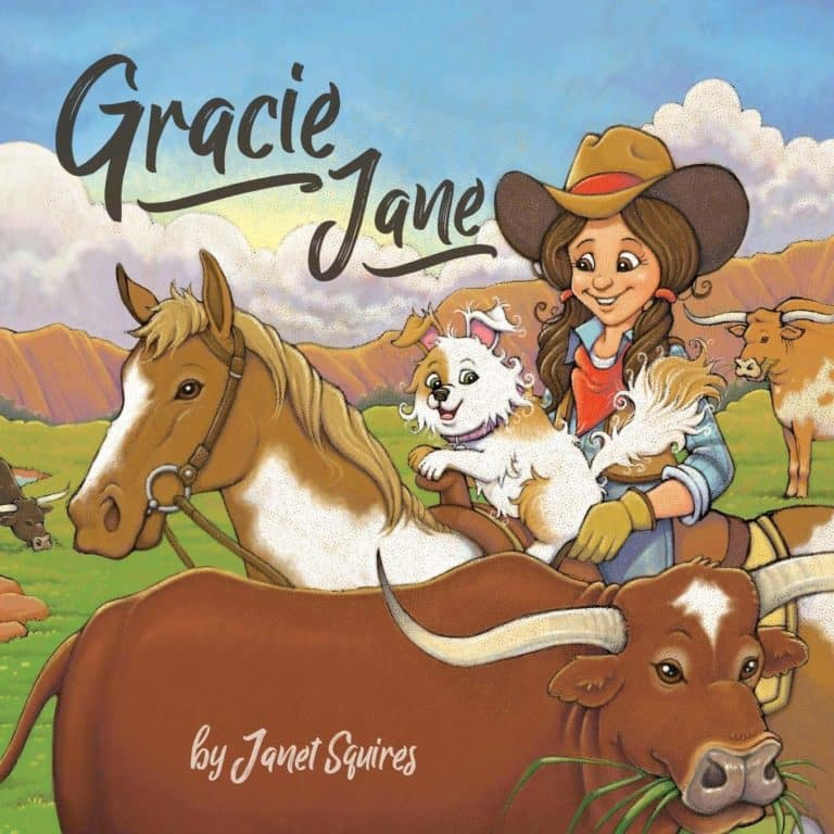 Gracie Jane by Janet Squires | Mindstir Media Book Cover