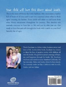 Henry the Little Sailboat and the Happy Harbor by Travis Escalante | Mindstir Media Book Cover