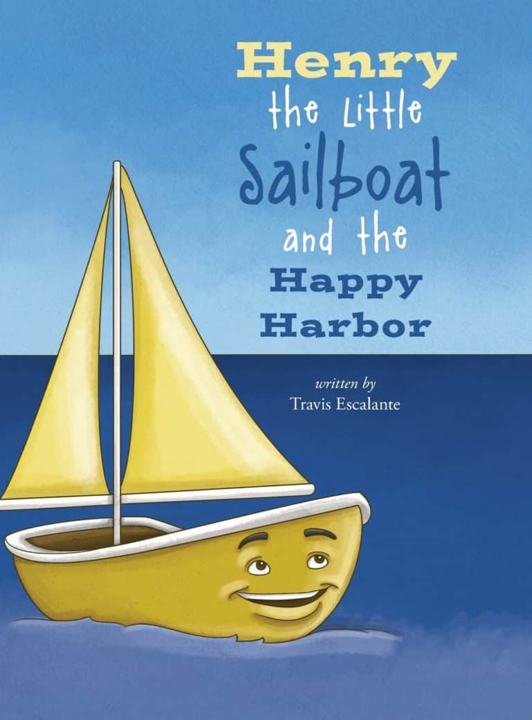 Henry the Little Sailboat and the Happy Harbor | Mindstir Media Book Cover