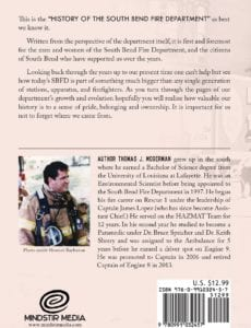 History of the South Bend Fire Department Vol I and II by Thomas Mogerman | Mindstir Media Book Cover