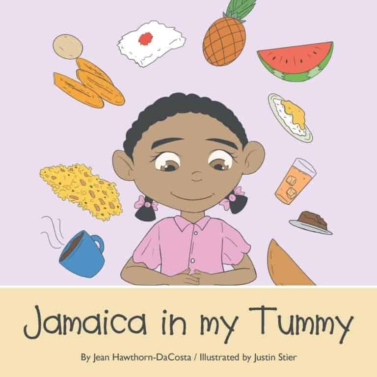 Jamaica in my Tummy by Jean Hawthorn DaCosta 1 | Mindstir Media Book Cover