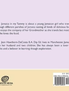 Jamaica in my Tummy by Jean Hawthorn DaCosta | Mindstir Media Book Cover