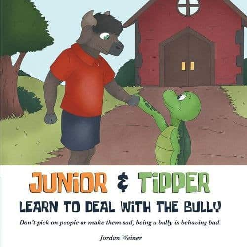 Junior Tipper Learn to Deal with the Bully | Mindstir Media Book Cover