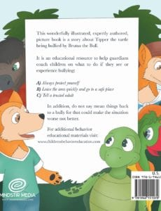 Junior and Tipper Learn to Deal with the Bully | Mindstir Media Book Cover