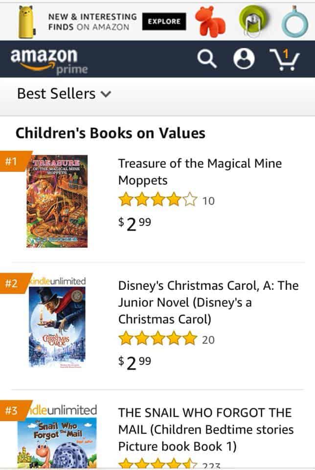 K.J. Blocker for becoming a 1 Amazon bestselling author 1   Mindstir Media Book Cover