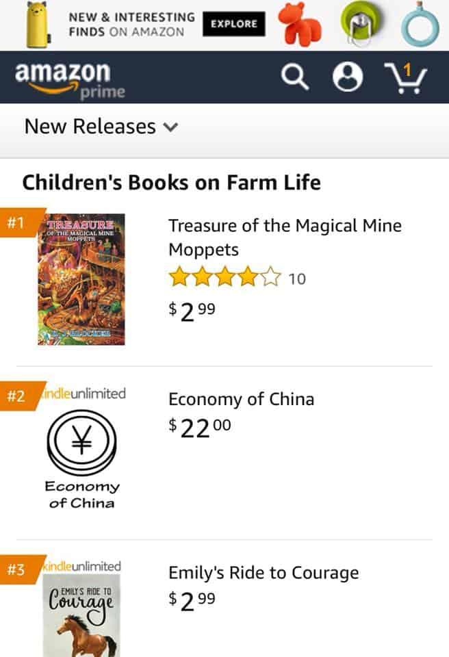 K.J. Blocker for becoming a 1 Amazon bestselling author 3   Mindstir Media Book Cover