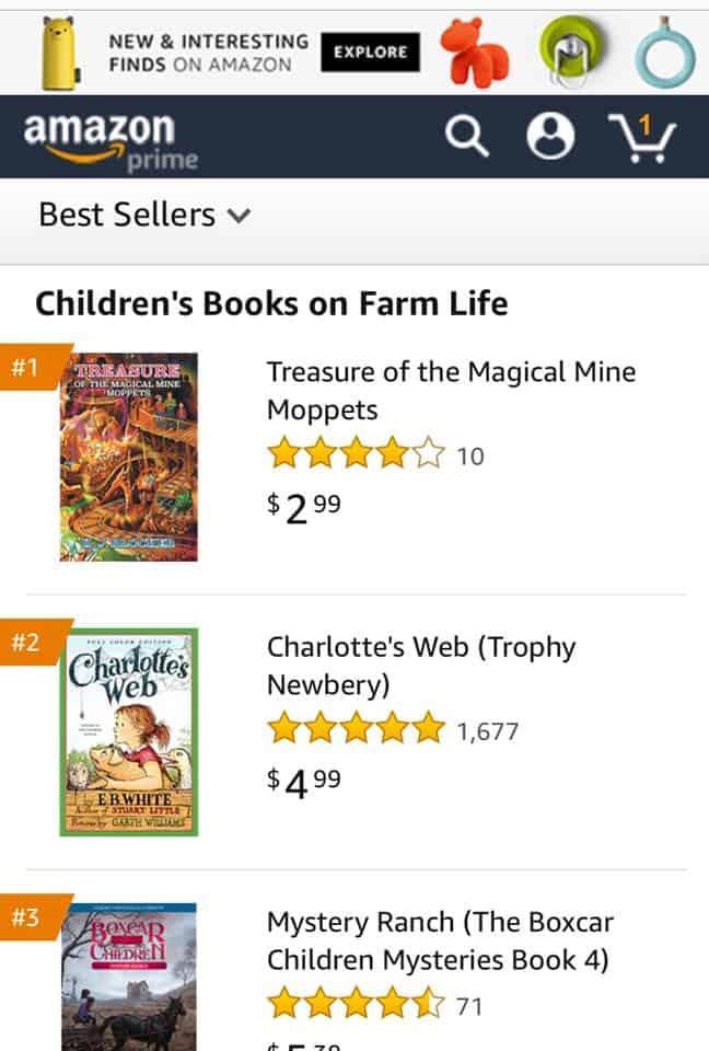 K.J. Blocker for becoming a 1 Amazon bestselling author   Mindstir Media Book Cover