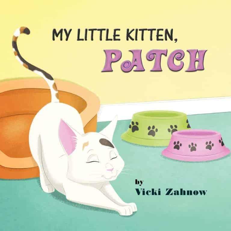 My Little Kitten Patch by Vicki Zahnow 1 | Mindstir Media Book Cover