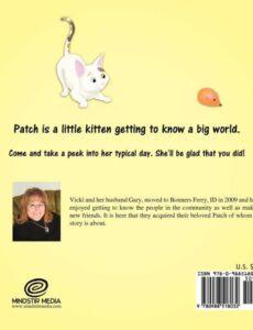 My Little Kitten Patch by Vicki Zahnow | Mindstir Media Book Cover