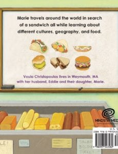 My Sandwich and Me by Voula Christopoulos foodie kids book | Mindstir Media Book Cover