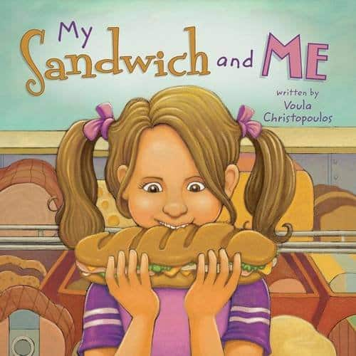 My Sandwich and Me by Voula Christopoulos | Mindstir Media Book Cover