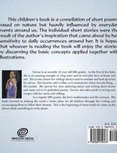 Oh Nature by Favour Egwuogu | Mindstir Media Book Cover