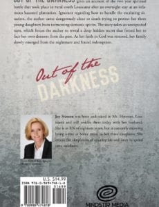 Out of the Darkness by Joy Stinson book | Mindstir Media Book Cover