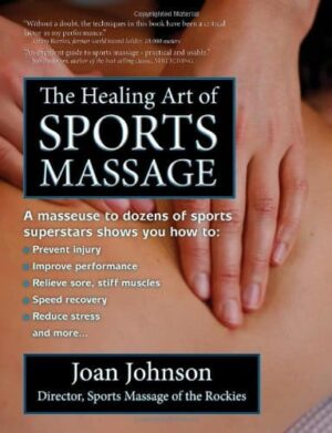 The Healing Art of Sports Massage | Mindstir Media Book Cover