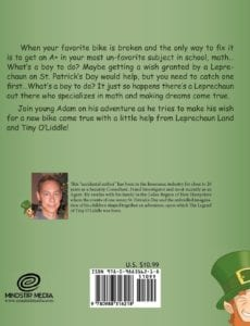 The Legend of Tiny OLiddle by Jay Dalrymple st patty day | Mindstir Media Book Cover