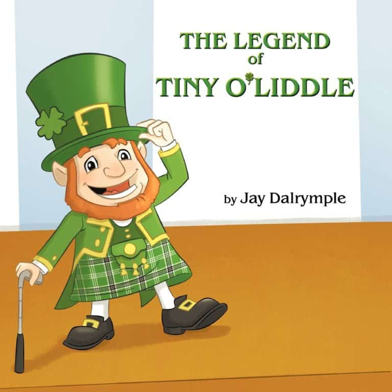 The Legend of Tiny OLiddle by Jay Dalrymple | Mindstir Media Book Cover