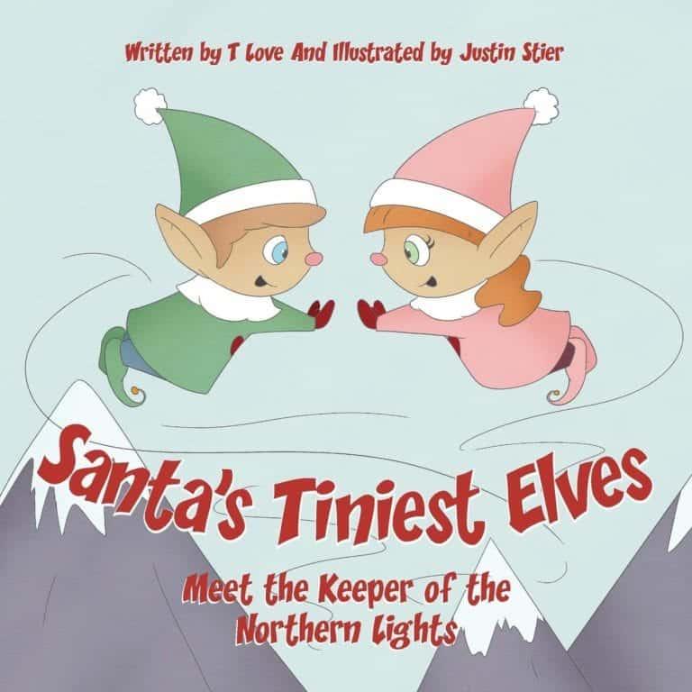 Santas Tiniest Elves Meet the Keeper of the Northern Lights | Mindstir Media Book Cover