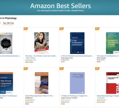Congratulations Your book has hit six 1 bestseller lists so far and 7 others 4 | Mindstir Media Book Cover