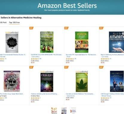 Congratulations Your book has hit six 1 bestseller lists so far and 7 others 7 | Mindstir Media Book Cover