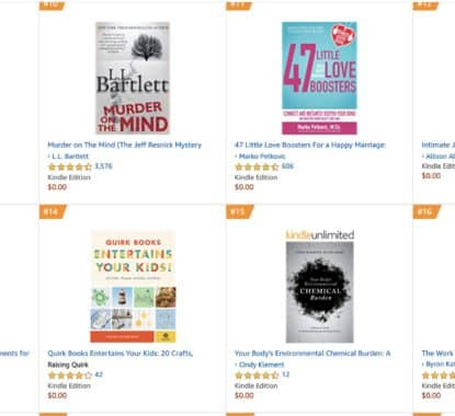 Congratulations Your book has hit six 1 bestseller lists so far and 7 others 8 | Mindstir Media Book Cover