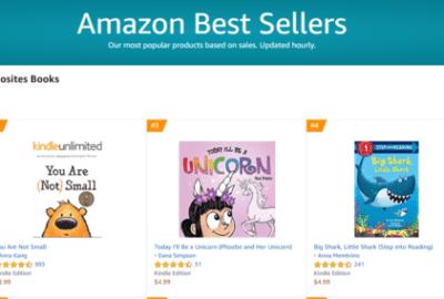 Number 1 Amazon Best Seller | Mindstir Media Book Cover