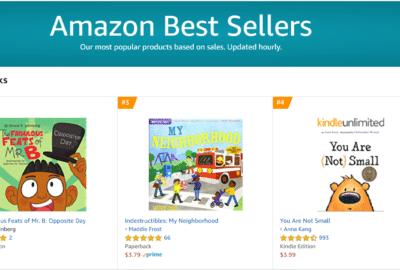 Number 2 Amazon Best Seller | Mindstir Media Book Cover