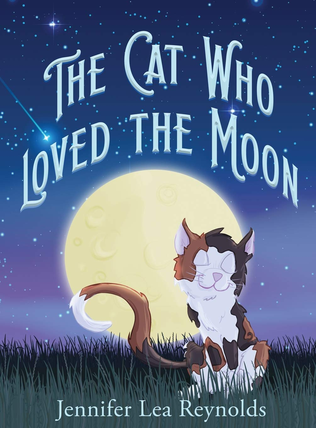 The Cat Who Loved the Moon | Mindstir Media Book Cover