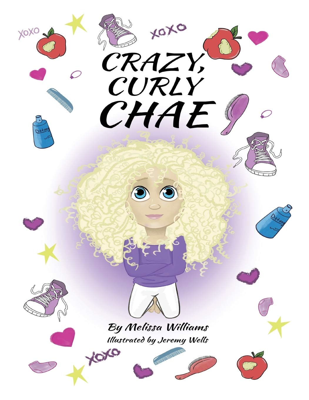 Crazy Curly Chae | Mindstir Media Book Cover
