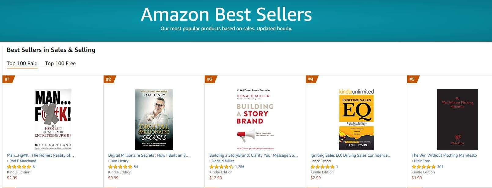 1 bestseller sales and selling 1 | Mindstir Media Book Cover