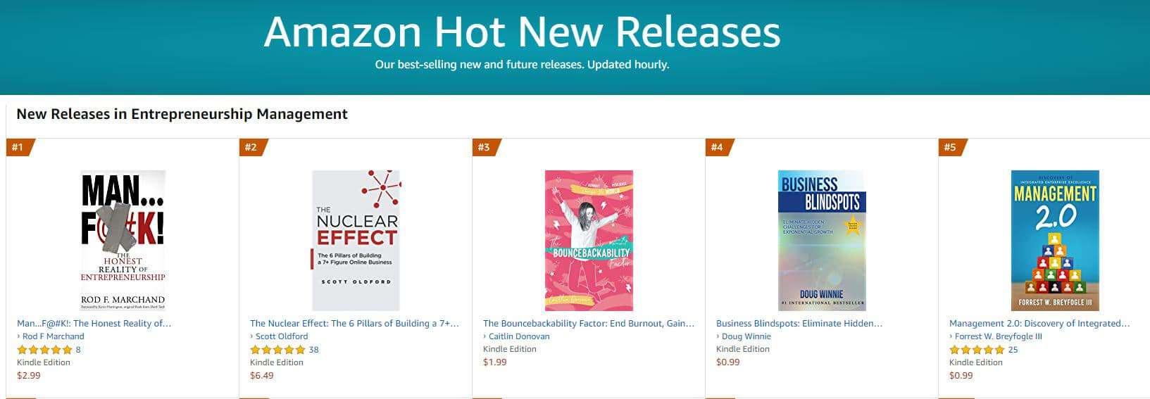 1 hot new release enterpreneurship management 1 | Mindstir Media Book Cover