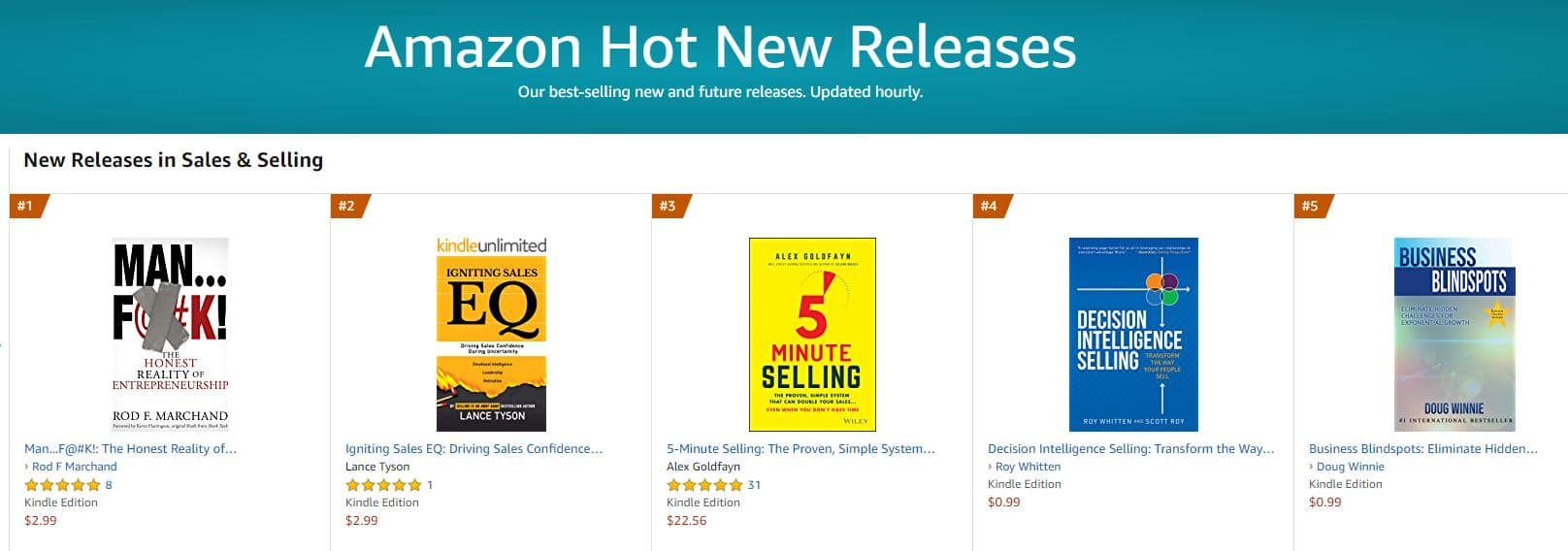 1 hot new release sales and selling 1 | Mindstir Media Book Cover