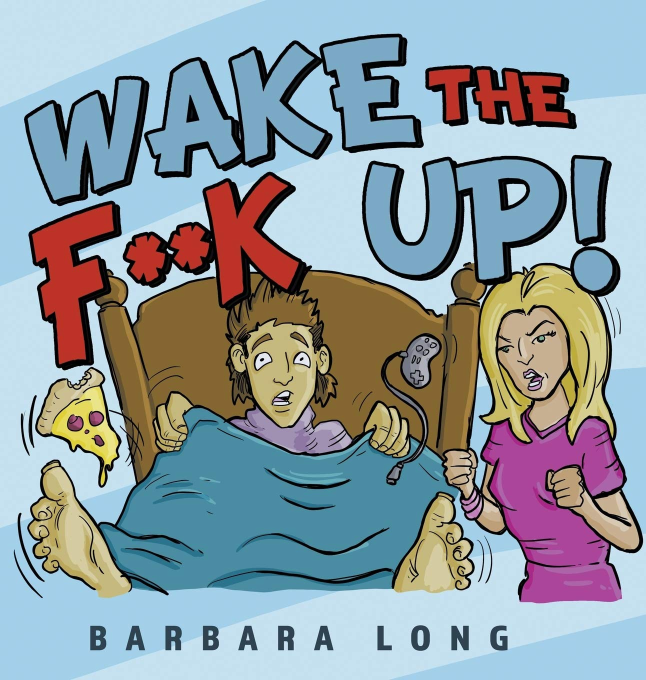 wake the fuck up | Mindstir Media Book Cover
