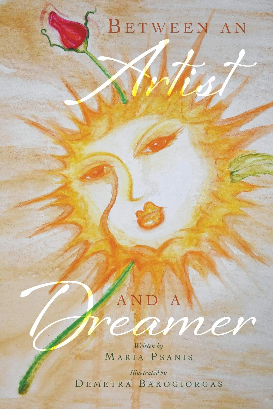 Between an Artist and a Dreamer | Mindstir Media Book Cover