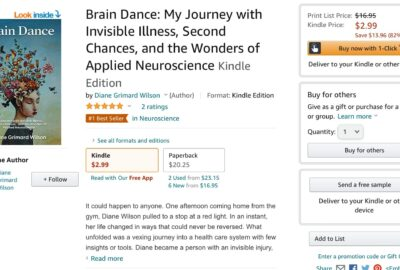 Brain Dance My Journey with Invisible Illness Second Chances and the Wonders of Applied Neuroscience 6 1 | Mindstir Media Book Cover