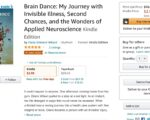 Brain Dance My Journey with Invisible Illness Second Chances and the Wonders of Applied Neuroscience 6 | Mindstir Media Book Cover