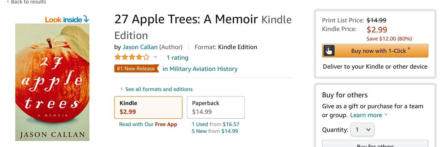 Congrats to Jason Callan for 1 Amazon Best Seller 1   Mindstir Media Book Cover