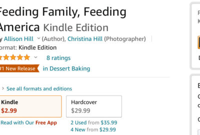Feeding Family Feeding America Amazon Best Seller by allison hill 1   Mindstir Media Book Cover