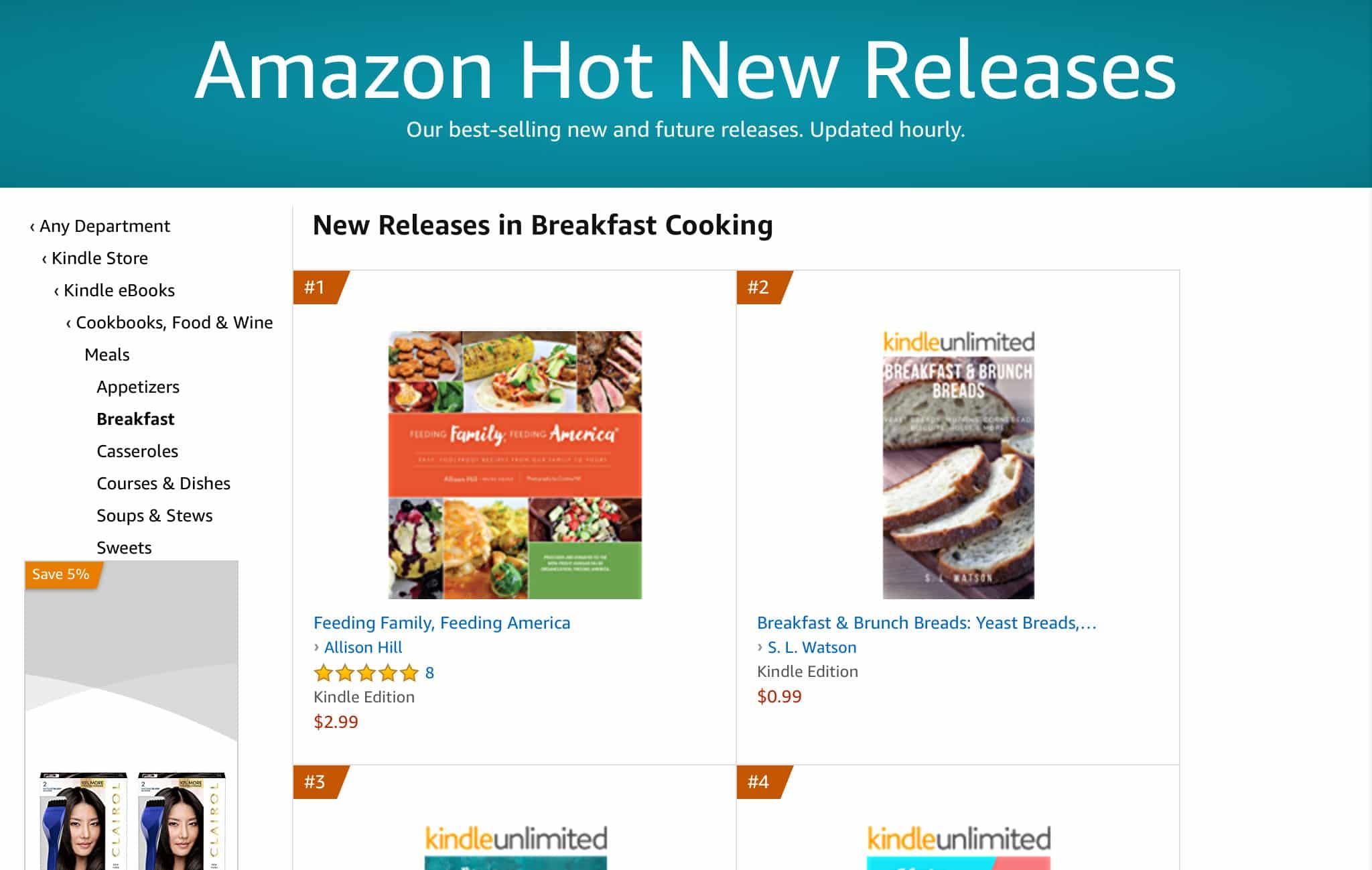 Feeding Family Feeding America Amazon Best Seller by allison hill 2   Mindstir Media Book Cover