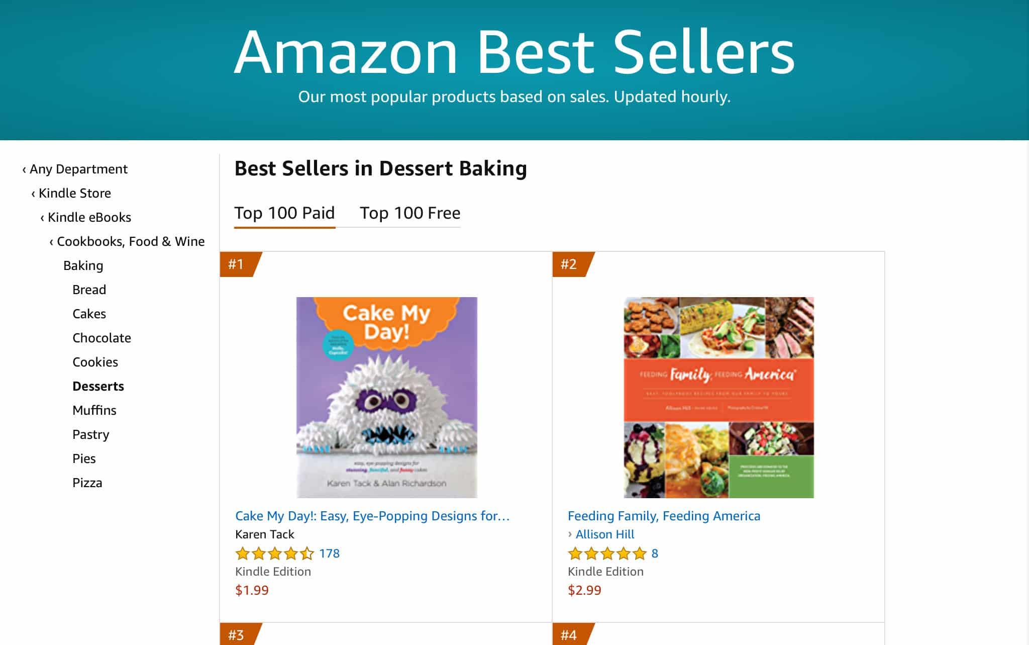 Feeding Family Feeding America Amazon Best Seller by allison hill 4   Mindstir Media Book Cover