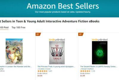 No 1 bestseller adventure | Mindstir Media Book Cover